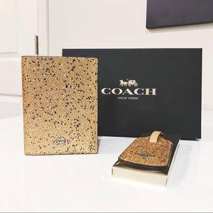 Coach Bags - COACH - NWT Glitter Travel Set Gift Box